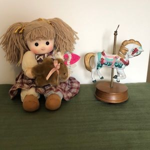 Other - Magical Motional Doll and Musical Horse